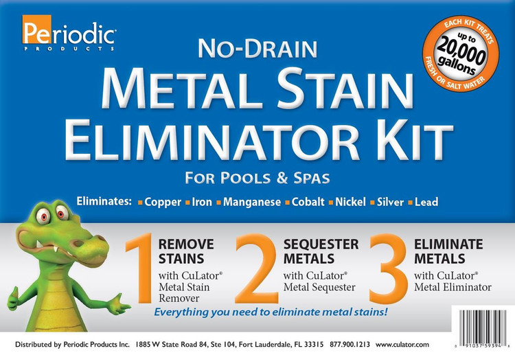 CuLator No-Drain Metal Stain Eliminator Kit