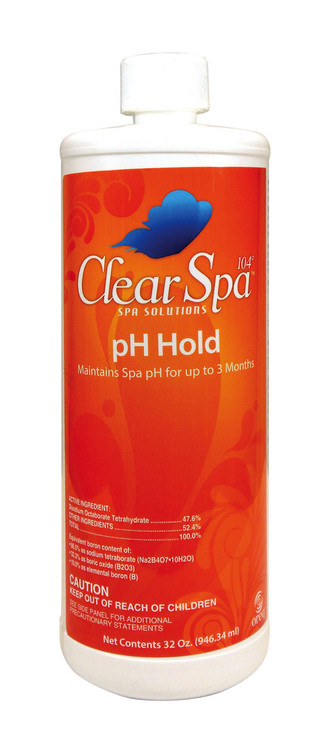 ClearSpa 104 pH Hold - 1 qt
