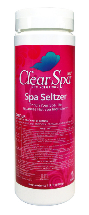 ClearSpa 104 Spa Seltzer - 2 lb