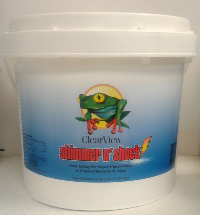 ClearView Shimmer-N' Shock - 25 lb