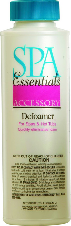 Spa Essentials Defoamer - 1 pt