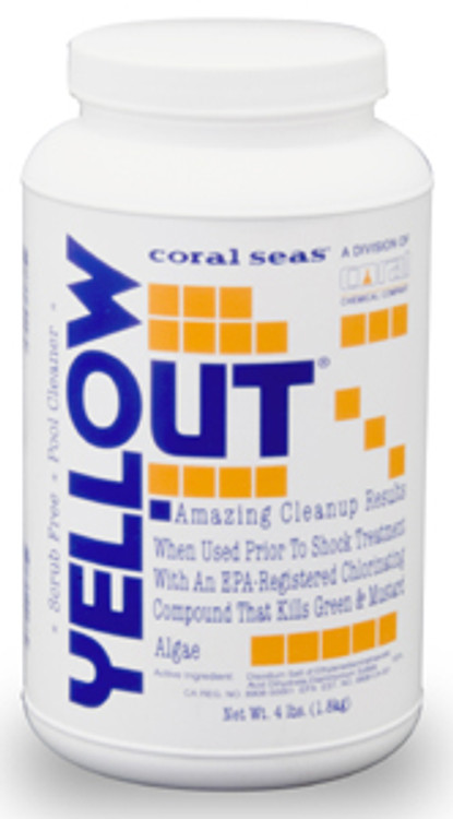 Coral Seas¨ Yellow Out¨ - 4 lb