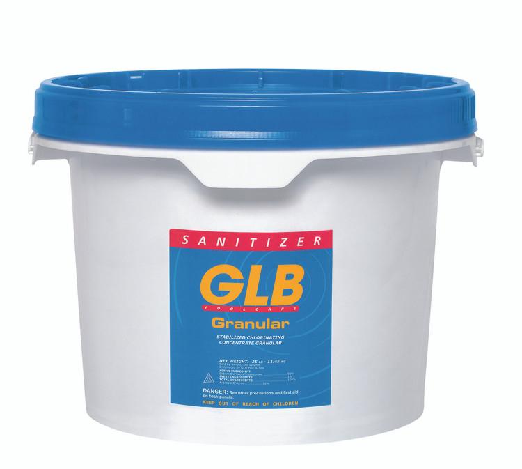 GLB® Granular Dichlor stabilized chlorine - 25 lb