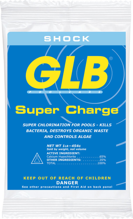 GLB® Super Charge chlorine shock - 1 lb