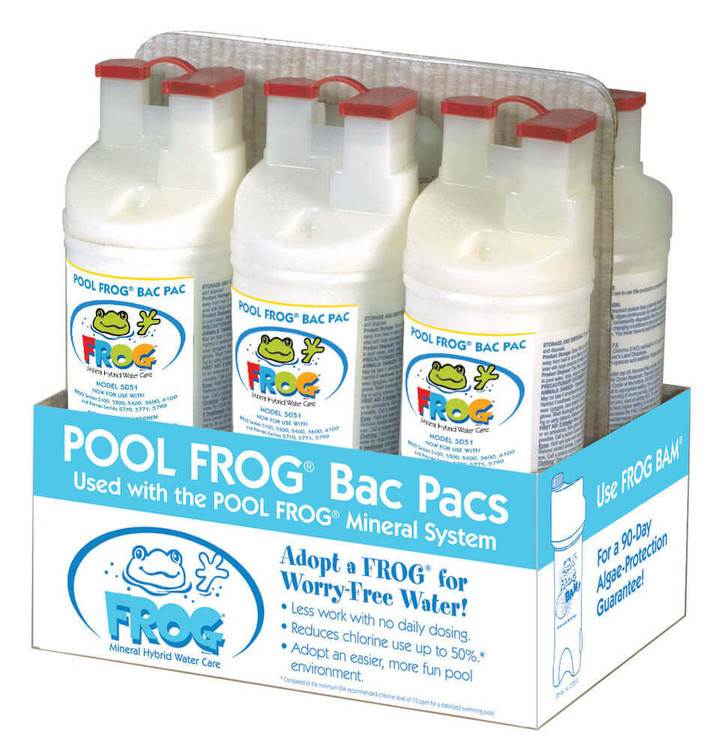 Pool Frog® Bac Pac 5051 - 6/pack