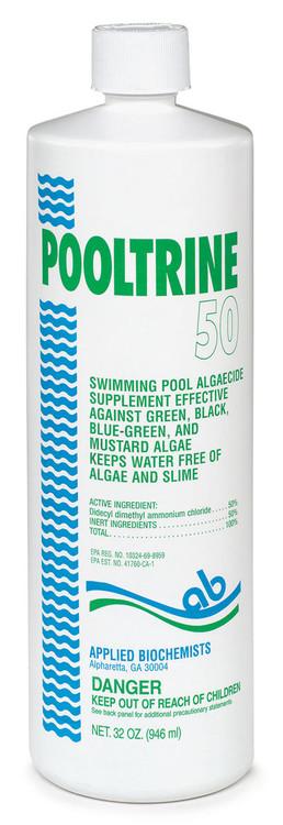 Applied Biochemists® Pooltrine® 50 algaecide - 1 qt