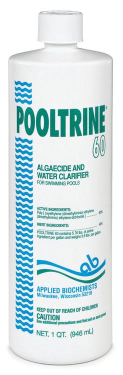 Applied Biochemists® Pooltrine® 60 algaecide - 1 qt
