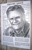 Billy Graham Amazing Grace Drawing