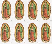 Custom Print Our Lady of Guadalupe Prayer Cards (Custom set of 8)