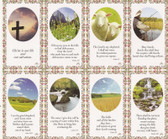 Custom Print Scripture Verse Nature Prayer Cards (Custom set of 8)