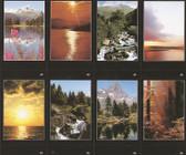 Custom Print Nature Prayer Cards - black borders (Custom set of 8)