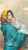 Queenship of Mary Prayer Card