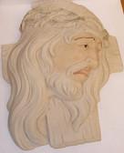Jesus's Face Plaque
