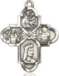 Four Way Franciscan Medal