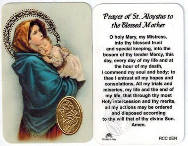 Novena to blessed mother mary