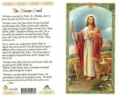 Good Shepherd, Nicene Creed, Laminated prayer card
