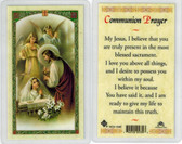 First Communion, girl communion, Laminated prayer card