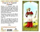 St. Raymond Nonatus, laminated prayer card