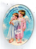 Jesus Embraced the Children Angel Magnet