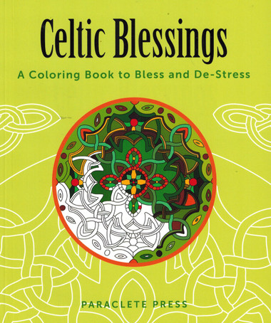 celtic blessings coloring book for adults with celtic pictures - Celtic Coloring Book
