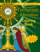 Eucharistic Adoration Coloring Book for Adults