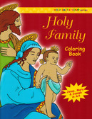 Catholic Coloring Book for Adults on the Holy Family