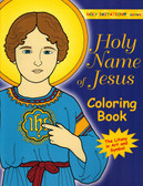 Coloring Book for Adults on Holy Name of Jesus