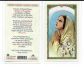 Prayer to Our Lady of Mental Peace