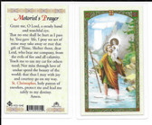 Laminated Prayer Card of Motorist's Prayer.