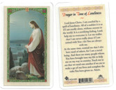 Prayer In Time Of Loneliness Laminated Prayer Card
