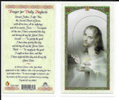 "Laminated Prayer Card ""Prayer for Daily Neglects""."