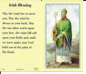 Irish Blessing Prayer Card