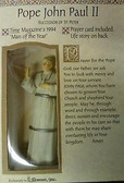 Pope John Paul II Statue Box Set