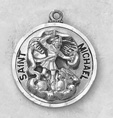 Saint Michael Medal On Chain