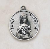 Saint Theresa Medal On Chain