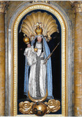 Mary With Jesus Plaque