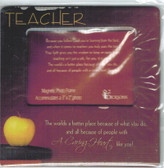 Teacher Photo Gift Magnet