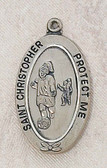 Girls' Soccer Medal Pendant on Chain and Boxed