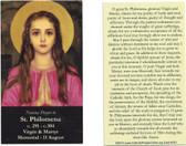 Saint Philomena Prayer Card