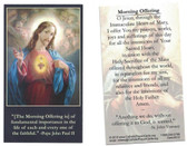 The Morning Offering Prayer Card