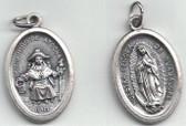 Nuestra Señora de Guadalupe/Santo Nino De Atocha Medal