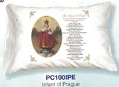 Infant Of Prague Prayer Pillowcase