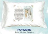 St. Mother Teresa Prayer Pillowcase( English Or Spanish)
