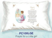 Prayer For  A Little Girl Prayer Pillowcase
