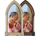 Saint Padre Pio at Mass Home Doorpost Blessing