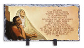 St. Monica Prayer Horizontal Slate Tile