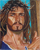 Jesus Crowned with Thorns Color Print