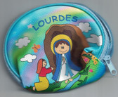 Children Our Lady Of Lourdes Rosary & Pouch