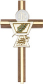 Bliss Walnut Communion Chalice Cross