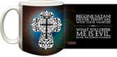 Benedictine Cross (Blue) Mug